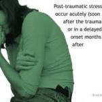 PTSD in woman
