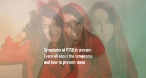 Symptoms of PTSD in women 1