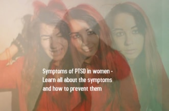 Symptoms of PTSD in women 1