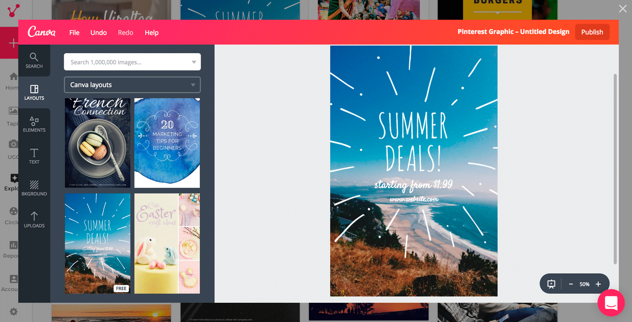 Canva integration
