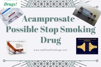 Acamprosate - Possible Stop Smoking Drug
