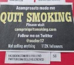 Acamprosate Made Me Quit Smoking