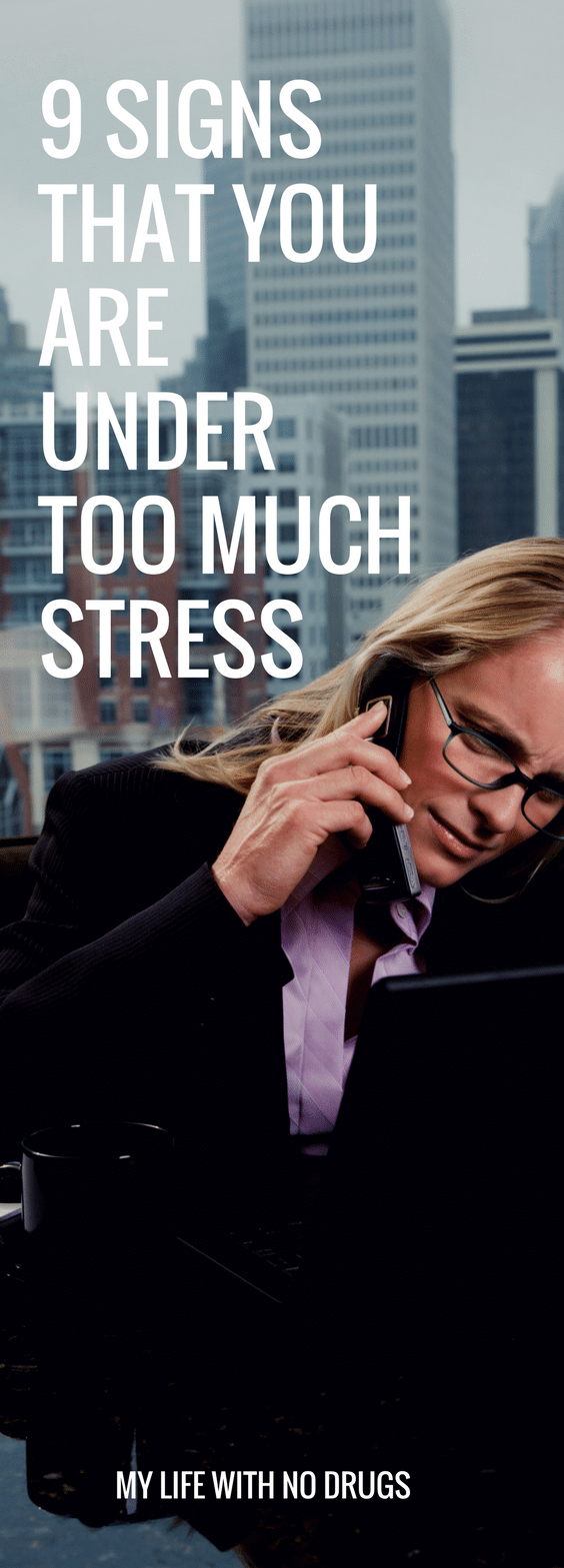 We all know #stress is an inescapable part of modern life, but there is such a thing as #toomuch stress. If you exhibit any of the following signs it is time to consider #stressrelief and #stressmanagement strategies. #tips #stressfree #relief