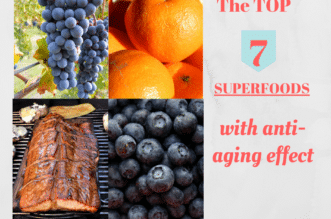 7 Superfoods with anti-aging effect