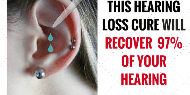 2 Drops Of This Hearing Loss Cure Can Recover 97% Of Your Hearing #loss #hearingloss #hearing #children #ear #age #audiology #guide #deaf #sound #ears #research #tinnitus #hearingaids #health #noise #hearingaid #tips #audpeeps #deafness