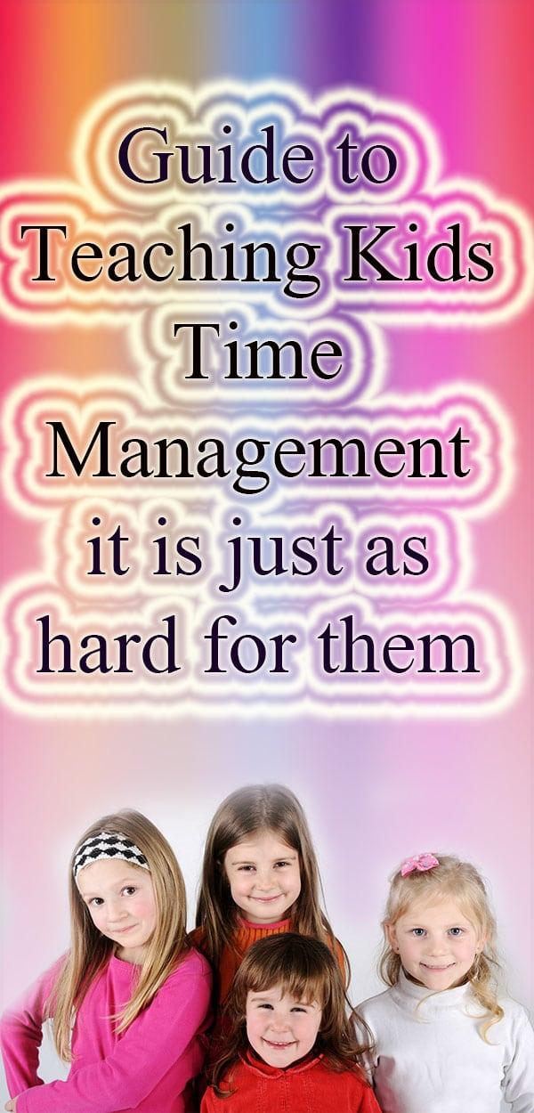 Teaching Kids Time Management tips, #TimeManagement #kids #kid #teach #teaching