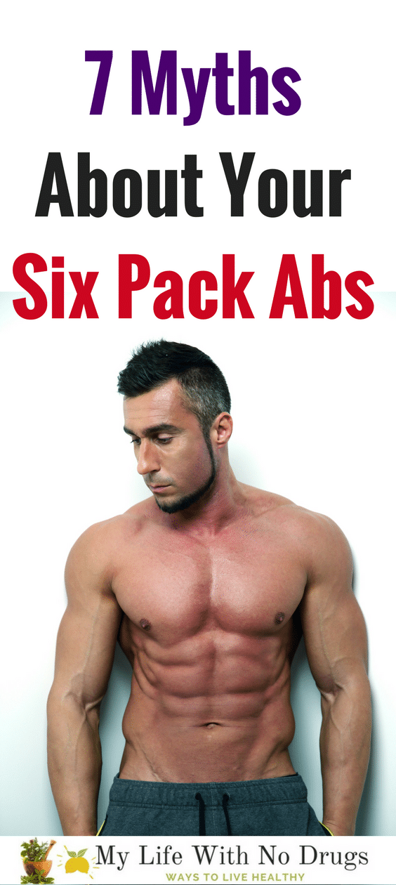 Here is how to get six pack abs with these six pack abs workouts for women and men Mylifewithnodrugs.com #SixPackAbs #SixPack #ForWomen #AbsWorkout #men #man #woman