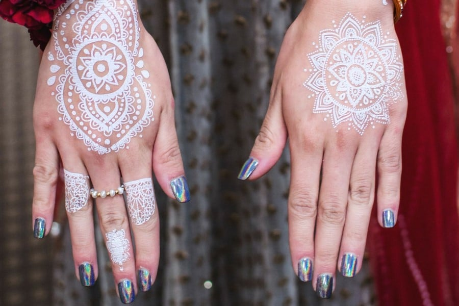 White henna in the United Arab Emirates