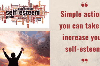 Simple actions you can take to increase your self-esteem