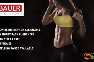 Bauer Nutrition Banner