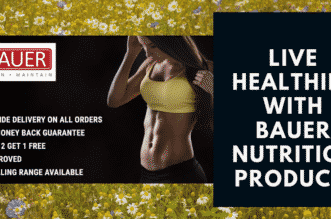 Live Healthily With Bauer Nutrition Products