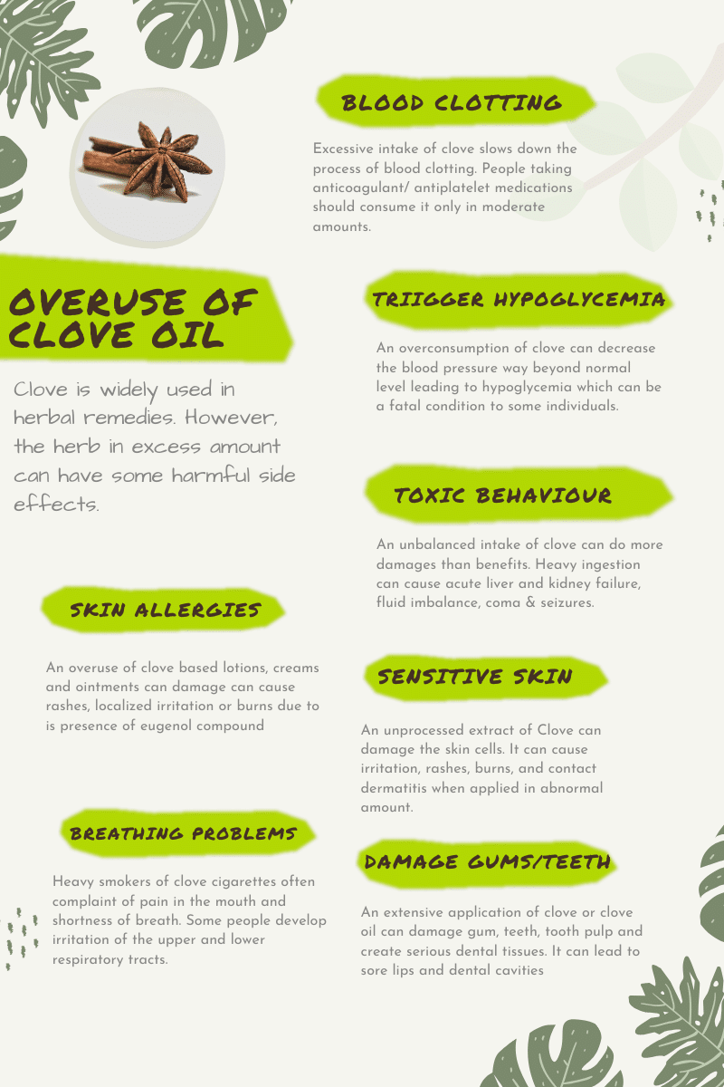 clove side effects