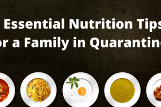 5 Essential Nutrition Tips for a Family in Quarantine