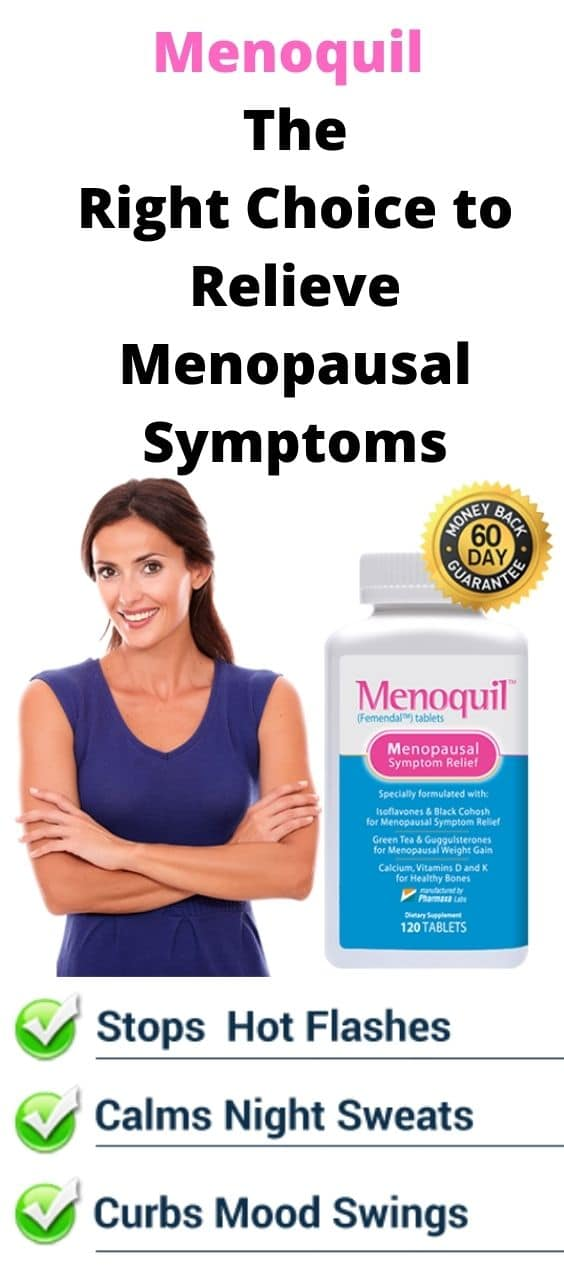 Menoquil: The Right Choice to Relieve Menopausal Symptoms