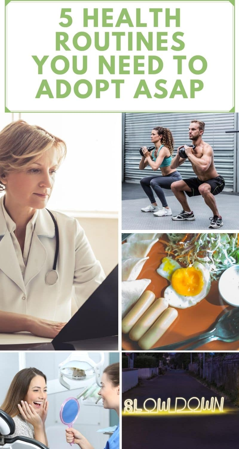 5 Health Routines You Need to Adopt ASAP (1)