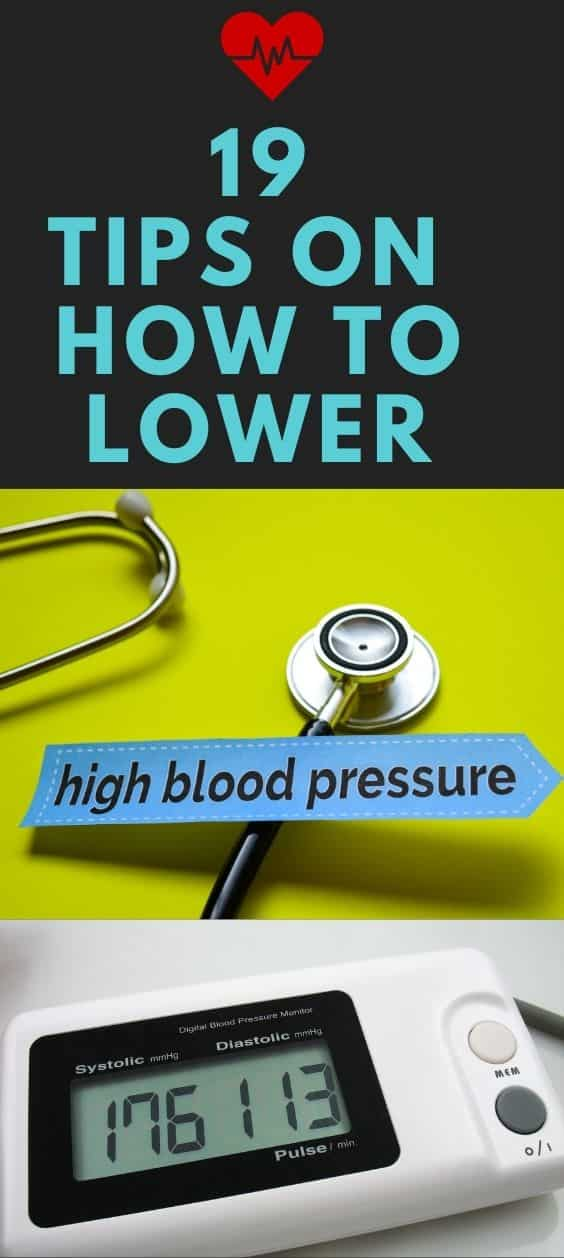 19 Tips on How to Lower High Blood Pressure
