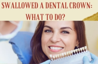 I Swallowed a Dental Crown: What to Do?